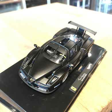 HotWheels 1/43 Elite Ferrari Enzo Test Monza 2003 Matt Black X5511