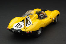 EXOTO XS 1/18 1957 Jaguar D-Type #16 Short Nose Equipe Nationale Belge Le Mans 24 Hours RLG89002C