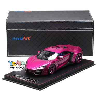 Frontiart 1/18 W Motors Lykan Hypersport PURPLE RED F030-36