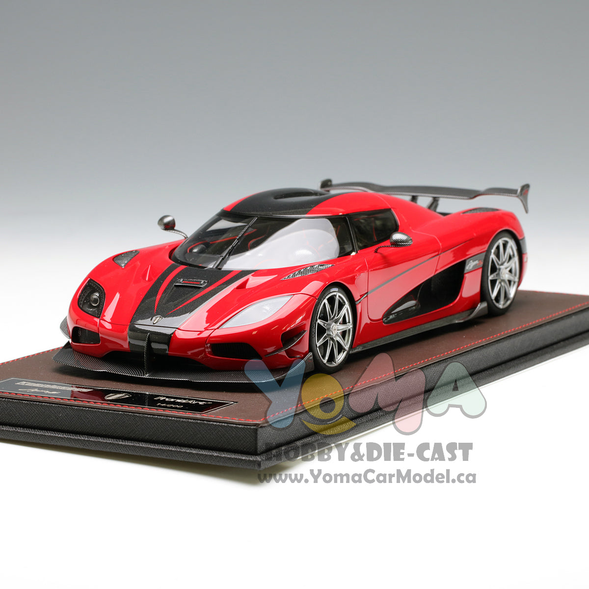 Koenigsegg Agera Rs Red: Frontiart 1/18 Koenigsegg Agera RS Red/Black F042-06