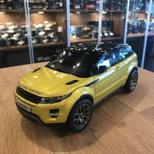 Welly GTA 1/18 Land Rover Range Rover Evoque Yellow GTA11003