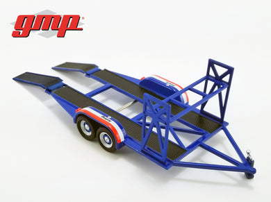 GMP 1:43 GMP Tandem Car Trailer with Tire Rack - MOPAR GMP-14310