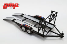 GMP 1:43 GMP Tandem Car Trailer with Tire Rack - Chevrolet GMP-14311