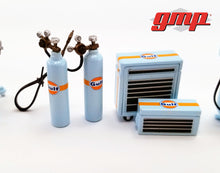 GMP 1:43 GMP Shop Tool Set #1 - Gulf Oil GMP-14313