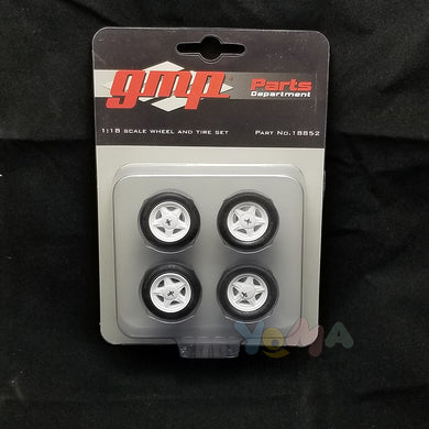 GMP 1/18 Ford Mustang Pony Wheel & Tire Pack (from GMP-18822) GMP-18852