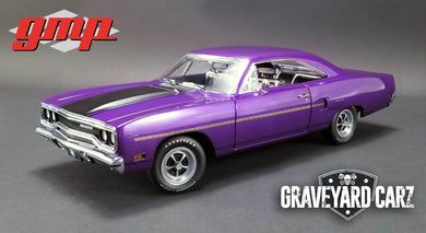 GMP 1/18 Graveyard Carz (2012-Current TV Series) - 1970 Plymouth Road Runner GMP-18897