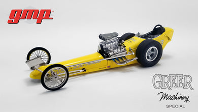 GMP 1:18 GMP Vintage Dragster - Greer - Black - Prudhomme Dragster GMP-18917