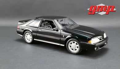 GMP 1:18 GMP 1993 Ford Mustang Cobra - Black with Black Interior GMP-18921