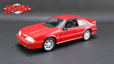 GMP 1:18 GMP 1993 Ford Mustang Cobra - Red with Black Interior GMP-18922