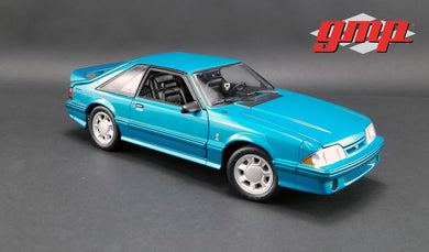GMP 1:18 1993 Ford Mustang Cobra - Teal with Black Interior GMP-18923