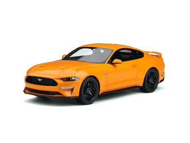 GT Spirit 1/18 Ford Mustang 2019 Orange Fury GT205