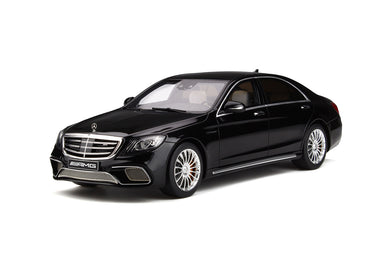 GT Spirit 1/18 2017 Mercedes-AMG S-Class S 65 Phase 2 Obsidian Black GT228