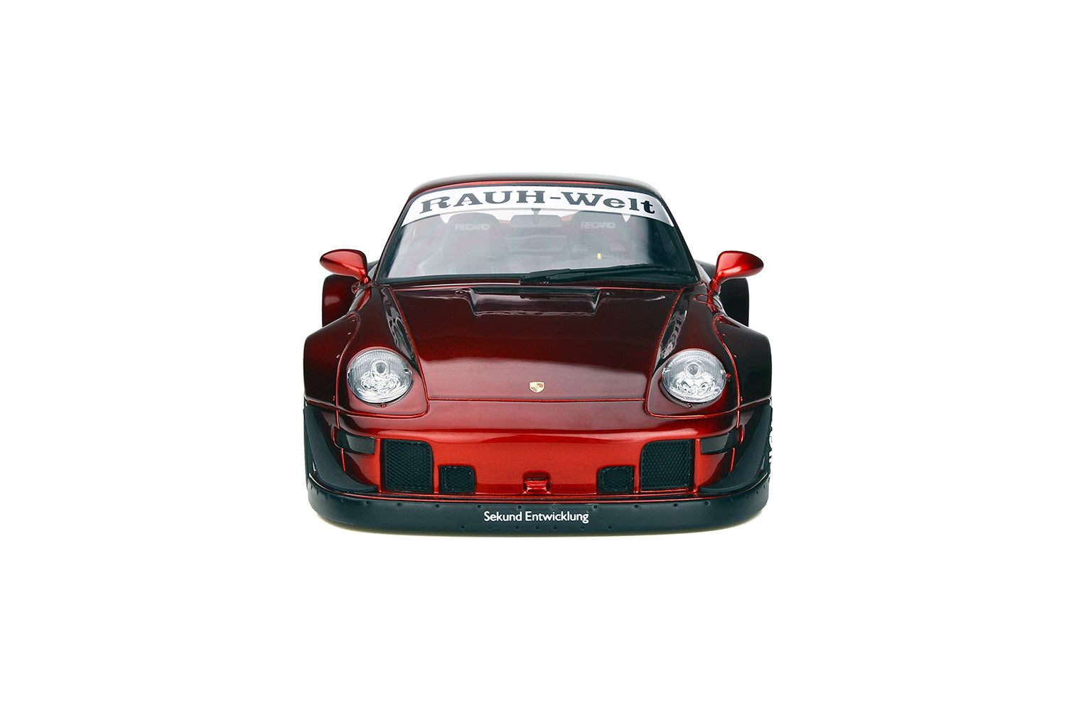 GT Spirit 1/18 Porsche 993 RWB DuckTail Candy red GT759