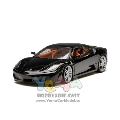 Hot Wheels 1/18 Ferrari F430 coupe Black H3070