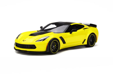 GT Spirit 1/18 Chevrolet Corvette Z06 C7-R Edition 2016 Yellow GT171