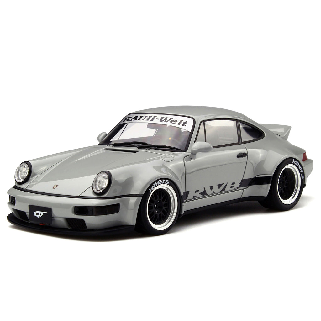 GT Spirit 1/18 Porsche 911 (964) RWB Duck Tail Gray GT187