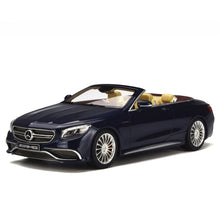 GT Spirit 1/18 Mercedes AMG S65 Convertible Blue GT153