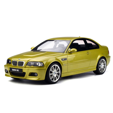 OTTO 1/12 BMW M3 E46 2003 Phoenix Yellow G025