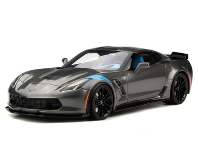 GT Spirit 1/18 Chevrolet Corvette C7 Grand Sport 2017 Gray GT151