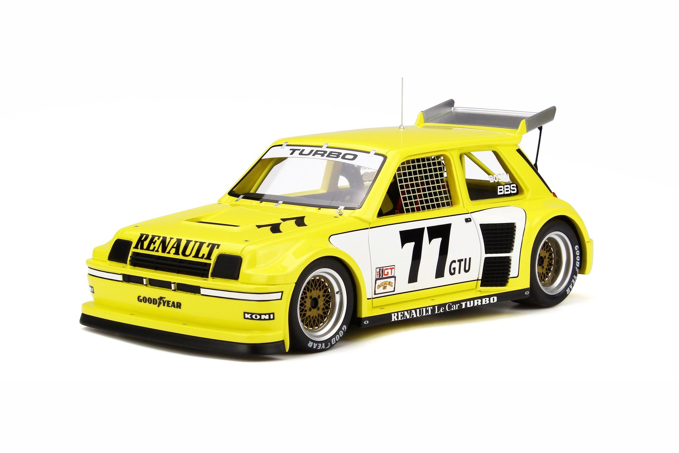 OTTO 1/18 Renault #77 Le Car Turbo IMSA OT261