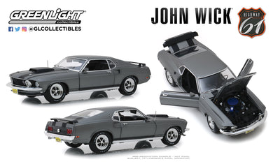 Highway 61 1:18 John Wick (2014) - 1969 Ford Mustang BOSS 429 HWY-18016