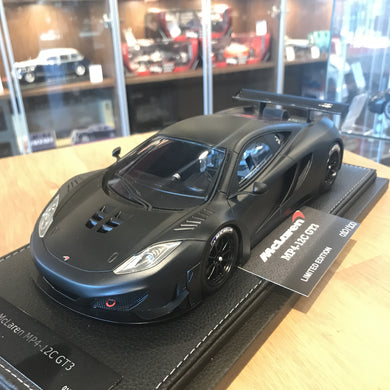 Peako 1/18 McLaren MP4-12C GT3 Matt Black