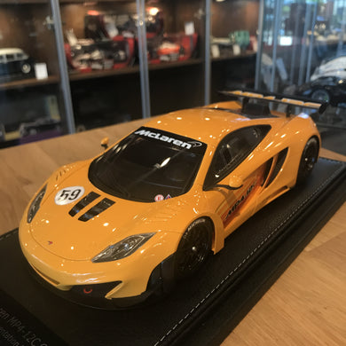 Peako 1/18 2011 McLaren MP4-12C GT3 #59 Orange 1804OR