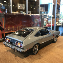GreenLight 1/18 1976 Ford Mustang II Stallion Silver 12890