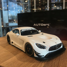 AUTOART 1/18 MERCEDES-AMG GT3 PLAIN COLOR VERSION (MATT WHITE) 81531