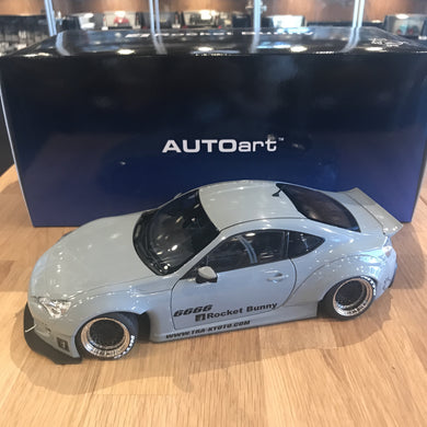 AUTOART 1/18 ROCKET BUNNY TOYOTA 86 (CONCRETE GREY/BLACK WHEELS) 78759