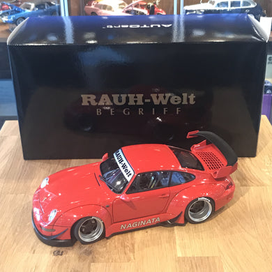 AUTOART 1/18 RWB 993 (RED/GUN GREY WHEELS) 78153