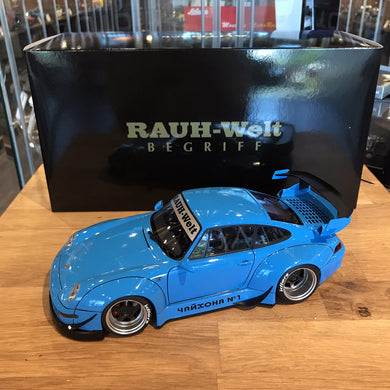 AUTOART 1/18 RWB 993 (BLUE/GUN GREY WHEELS) 78152