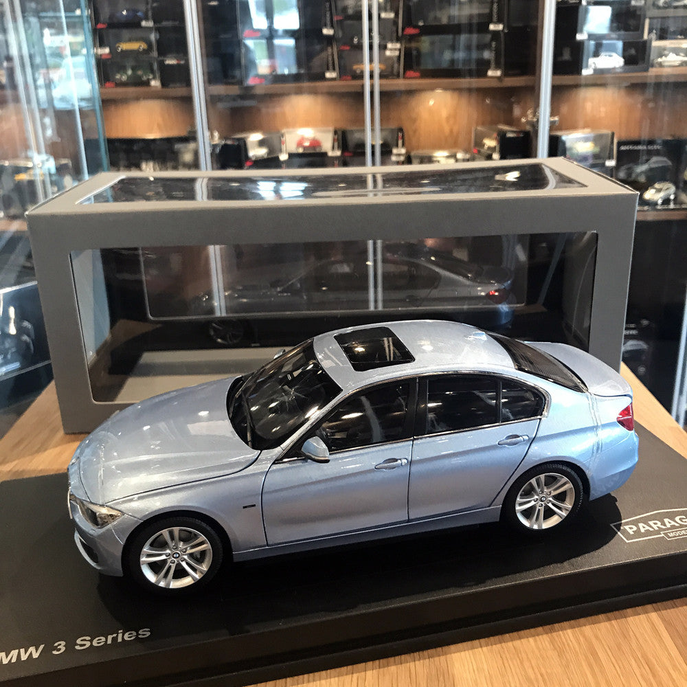 Paragon 1/18 BMW 3 Series Liquid Blue PA-97026