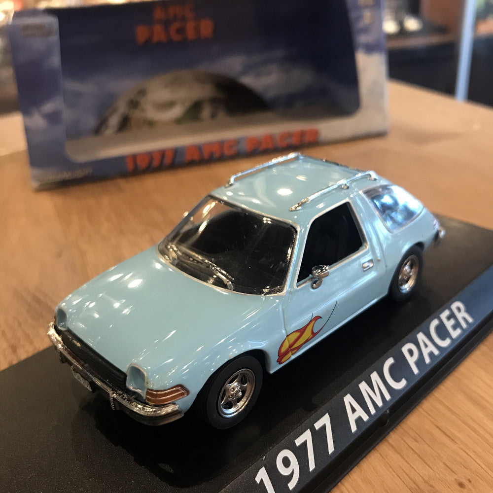 GreenLight 1/43 1977 AMC Pacer Light Blue 86306