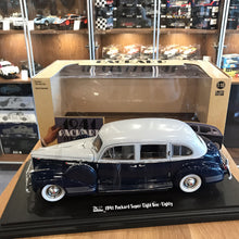 GreenLight 1/18 1941 Packard Super Eight One-Eighty Blue 12970