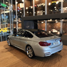 Paragon 1/18 BMW M4 Coupe Silver PA-97102
