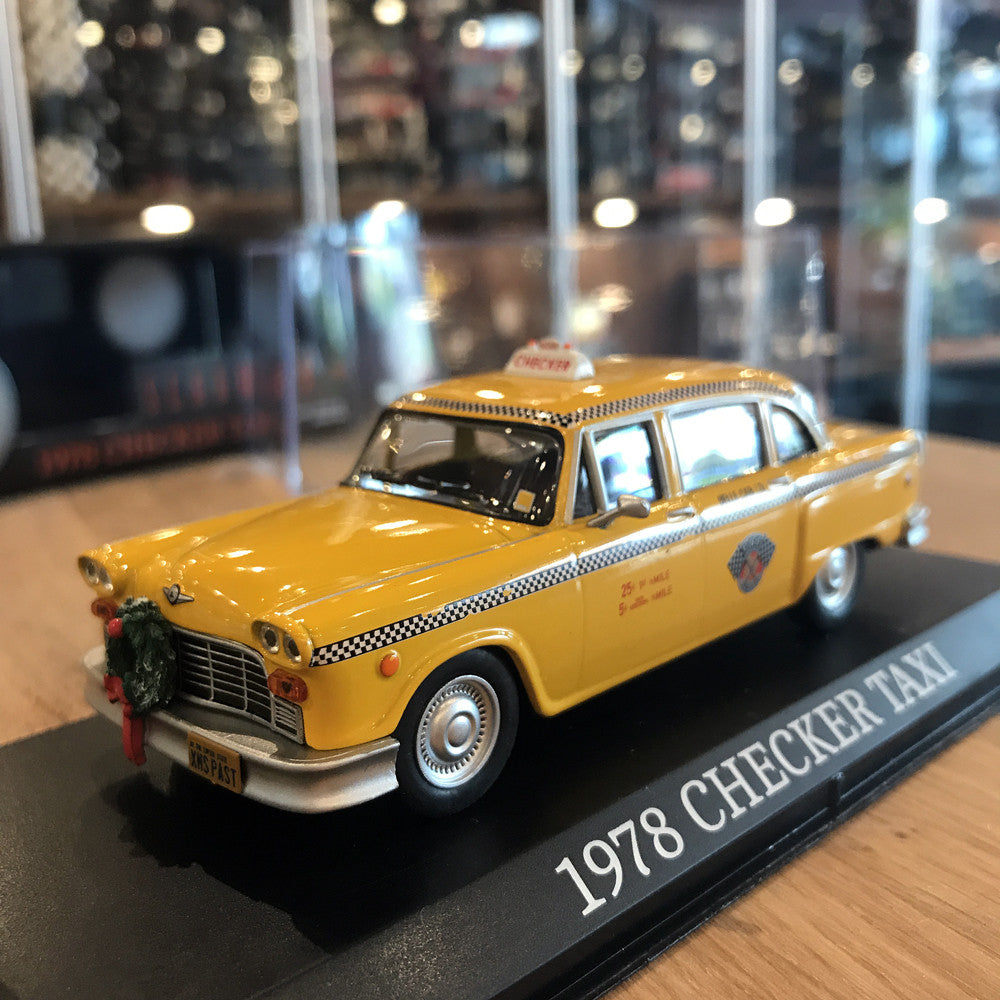 GreenLight 1/43 1978 Checker Taxicab