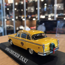 "GreenLight 1/43 1978 Checker Taxicab ""Scrooged"" Movie 86075"
