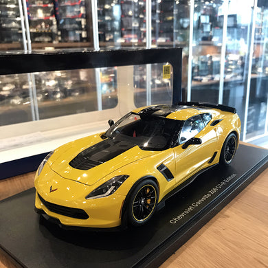 AUTOART 1/18 CHEVROLET CORVETTE C7 Z06 C7R EDITION (CORVETTE RACING YELLOW) 71260