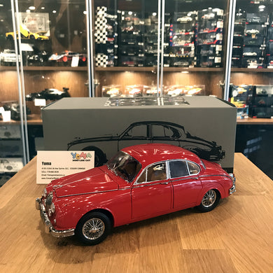 Paragon 1/18 1962 Jaguar MKII 3.8 Carmen Red PA-98322L
