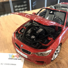 Paragon 1/18 BMW M4 Cabrio Sakhir Orange PA-97111
