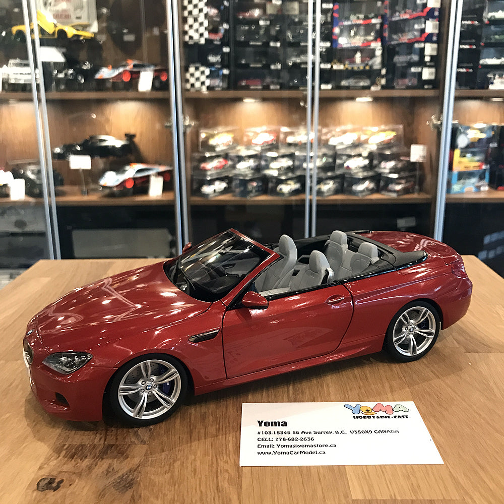 Paragon 1/18 BMW M6 Cabrio Sakhir Orange PA-97063