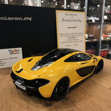 AUTOart 1/18 McLAREN P1 (VOLCANO YELLOW) DIECAST CAR MODEL 76021