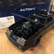 "AUTOart 1/18 FORD XB FALCON TUNED VERSION ""BLACK INTERCEPTOR"" (BLACK) DIECAST CAR MODEL 72775"
