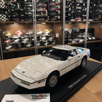 AUTOART 1/18 CHEVROLET CORVETTE 1986 WHITE 71243