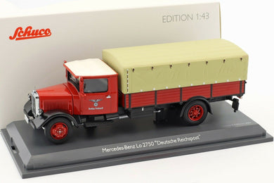 Schuco 1/43 Mercedes-Benz Lo 2750 pick-up Deutsche Reichspost 450310300