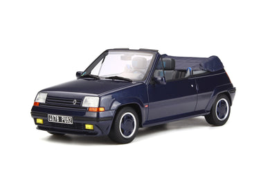 OTTO 1/18 Renault 5 GT Turbo Cabriolet by EBS 1990 OT280