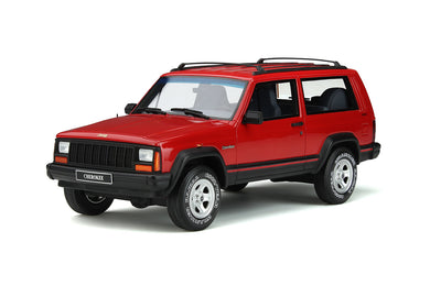 OTTO 1/18 Jeep Cherokee 2.5 EFI 1995 Flame Red OT738