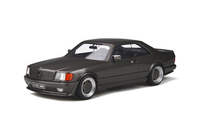 OTTO 1:18 Mercedes-Benz 560 SEC AMG (C126) 1987 Anthracite Grey OT823