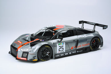 Paragon 1/18 Audi R8 LMS: Sainteloc Racing #25 (FRA) 2017 24 Hours Spa 1st PA-88111